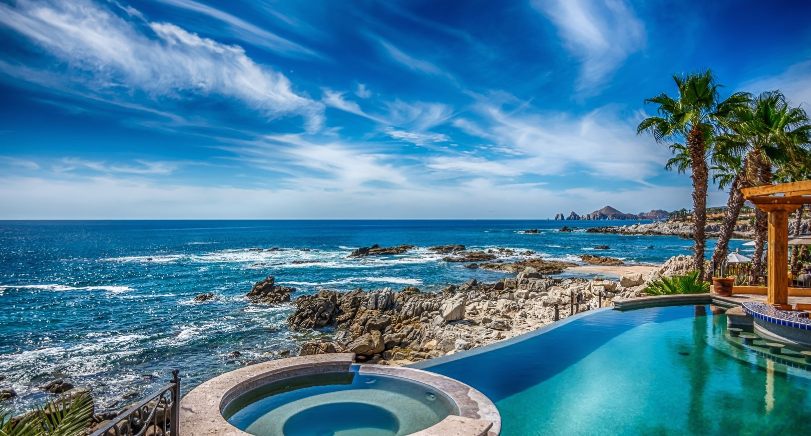 Great view from Hacienda La Carreta, Punta Ballena, Los Cabos, Mexico